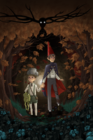Over the Garden Wall by Enigmar