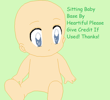 Curious Baby Base by Heartiful