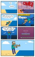 Minecraft - FLIPPING WATER by Malliya