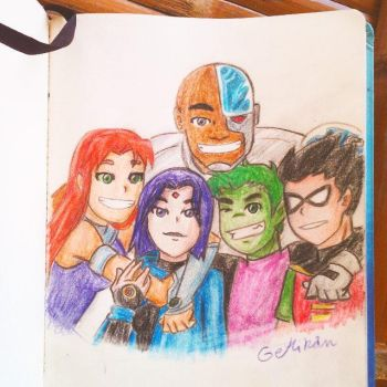 Teen Titans by GeMIkanXIII