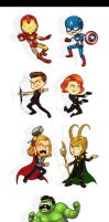 The Avengers by Quackamos