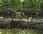 Anchiornis - old version by EWilloughby