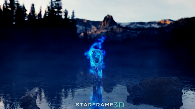 Icy Waters [Dayly Art - Dark] by Starframe3D