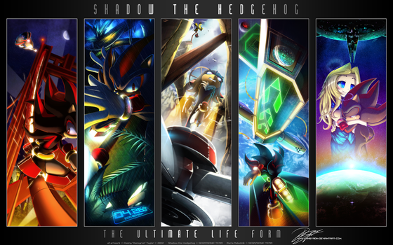 Shadow The Hedgehog .:The Ultimate Life Form:. by DanSyron