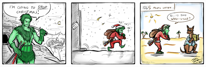 How Zoro Did NOT Steal Christmas! by Tamagi