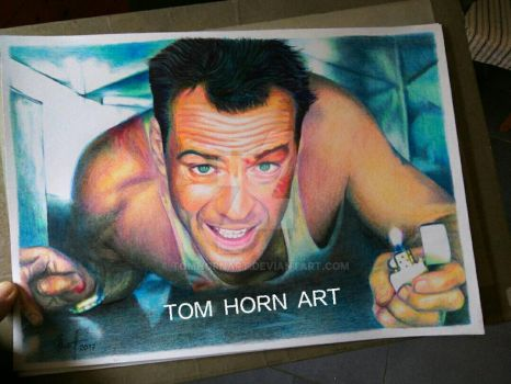 Bruce by TomHornArt