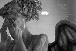 Dr Who Paintopia Weeping Angel bodypaint blink eye by Bodypaintingbycatdot