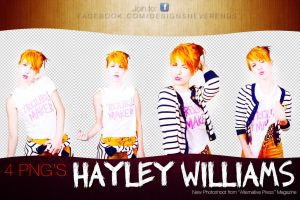 4 PNG Hayley Williams New Photoshoot by DesignsNeverEnds