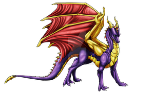 Spyro - Contest prize by Fucal