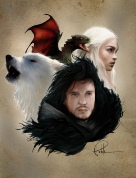 Game Of Thrones Preview by gerky-art