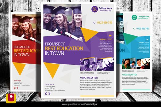 School Admission Flyer Bundle: BACK TO SCHOOL FLYER On FlyerDesigns