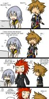 KH guys talk about yaoi. PART1 by larein