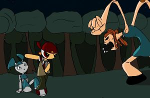Misty and the exo-skin by toongrowner on DeviantArt