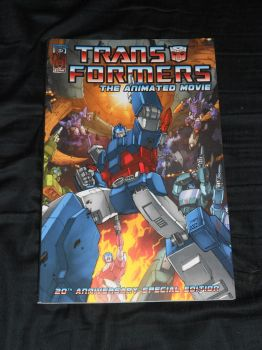 IDW's Transformers: The Animated Movie Tradeback by Kaizer617