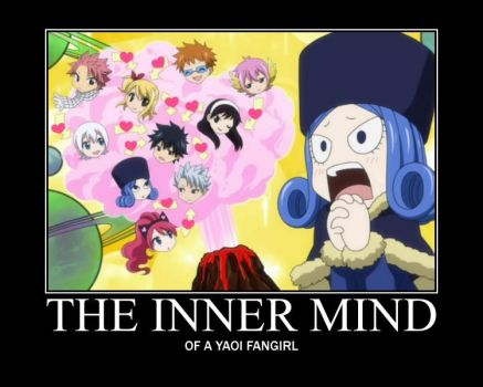Fairy Tail Motivational Poster: Fangirling by WithinTheCosmos