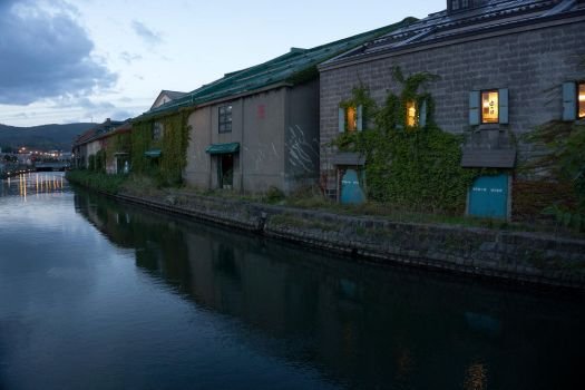 Warehouses by the Canal by avarenity