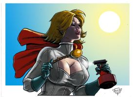 Power girl hot Q by FTacito