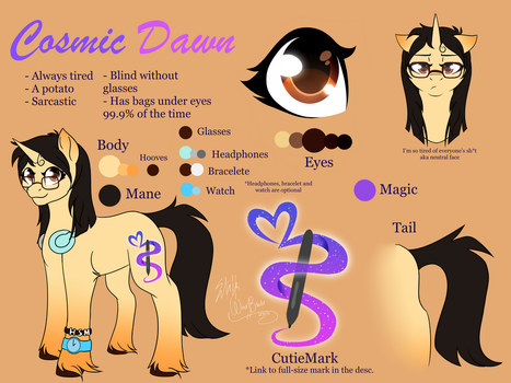 Sona Reference - Cosmic Dawn by WindBlade2313
