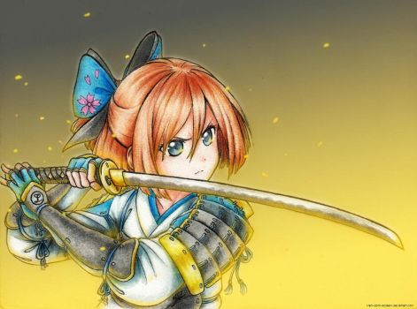 [HDN] The Young Samurai by Men-dont-scream