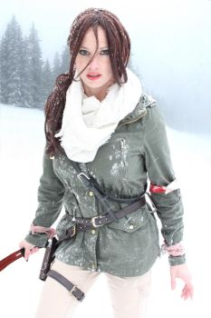 Rise Of the Tomb Raider Cosplay #1 by CosplayCandy