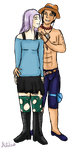 Shiori and Ace by DaisyWarrior