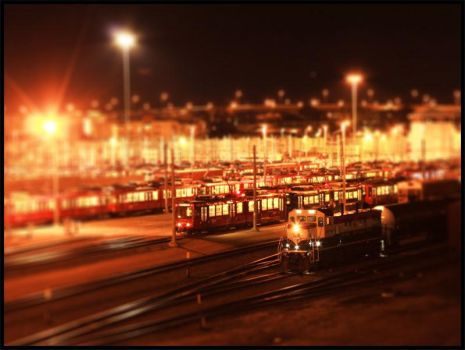 Tiny Trains by OneLove2102