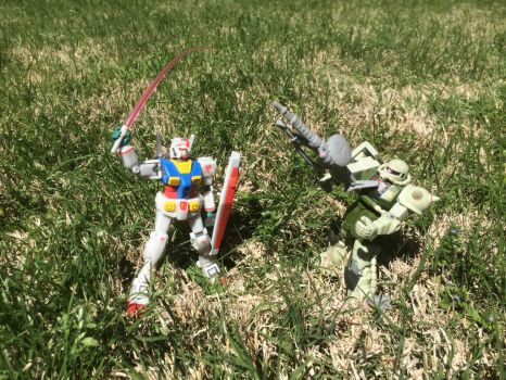 Mobile Suit Gundam: Brought Sword to Gunfight by panzerhuy