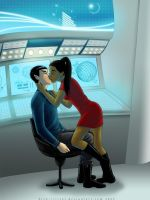 Star Trek - Uhura snaps by Irrel