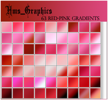 63 Red-Pink Gradients by graphicdump