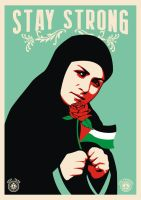 Stay Strong Palestinian by racuntikus