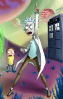 Rick and Morty by squigi