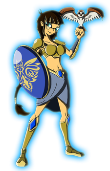Character Reboot: The 12 Olympians - Athena by Moheart7