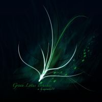 GIMP Green Lotus Brushes by Project-GimpBC