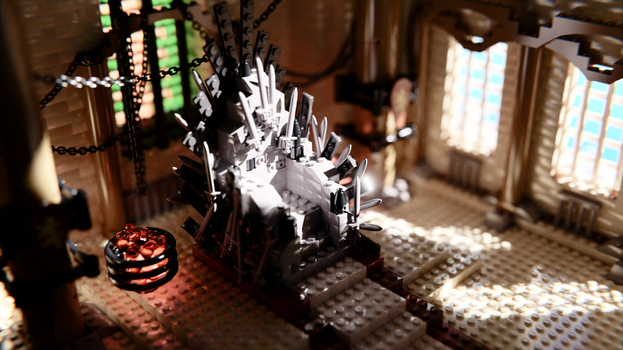 The iron throne by egeres