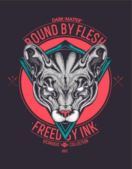 Bound by Flesh / Freed by Ink ( DARK-MATTER, SOON) by jfe