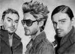 30 Seconds To Mars by Ilojleen