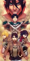 Attack on Titan by instantmiso