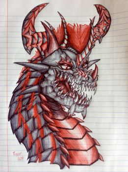 Pen art #28 by Tiger1609