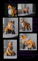Alie sculpture by AlieTheKitsune