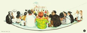 Panalive crowd sketch by deadlymike