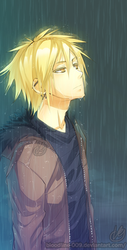 A rainy evening by BloodlineV