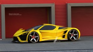 SCORPION CONCEPT by mcmercslr
