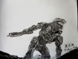 Master Chief from Halo 4 by Victoria-Creed