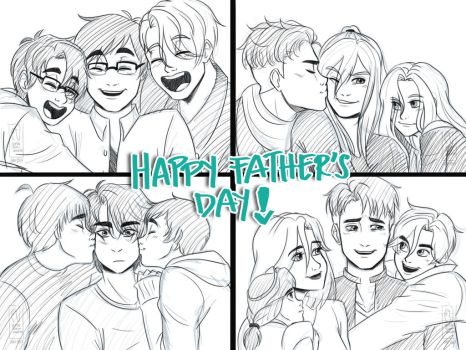 Happy Fathers Day by URESHI-SAN