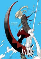 Maka and Soul by quarksleptons