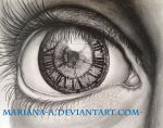 She saw the time passing by (new) by mariana-a