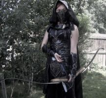 Ready and Waiting--Skyrim Cosplay by audrey-vista