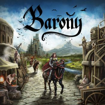 Barony Game board cover by ismaelArt