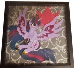 Twilight Shadow Box SIGNED by Tara Strong! by Magpie-pony