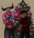 Dragon Age Inquisition: An Adoribull Christmas by AniDragon